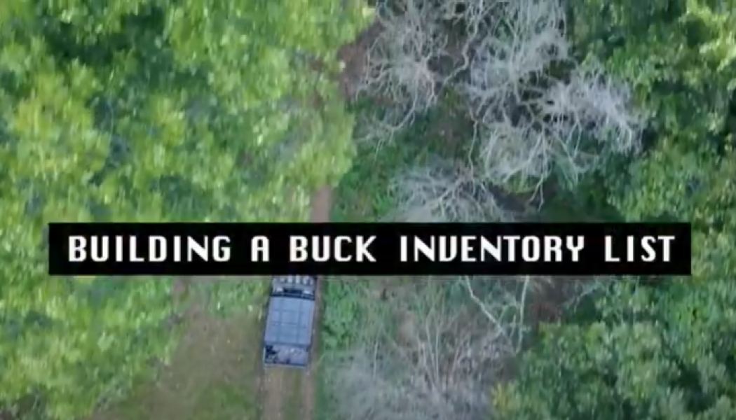 Building a Buck Inventory