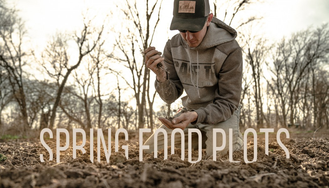 Building Whitetails - The Most Important Part of Spring Food Plots