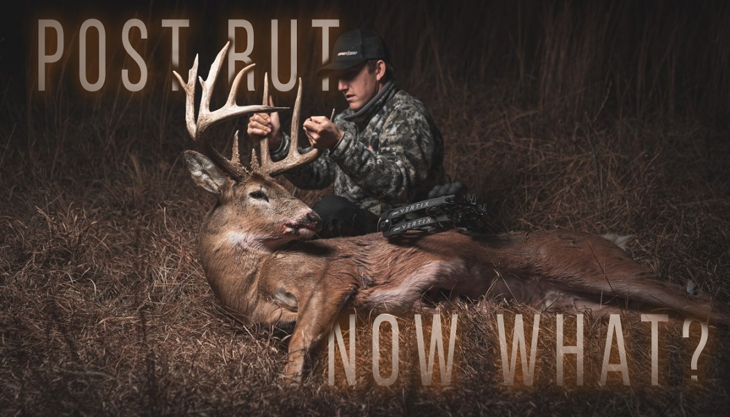 Building Whitetails - How to Hunt Lockdown and Post Rut