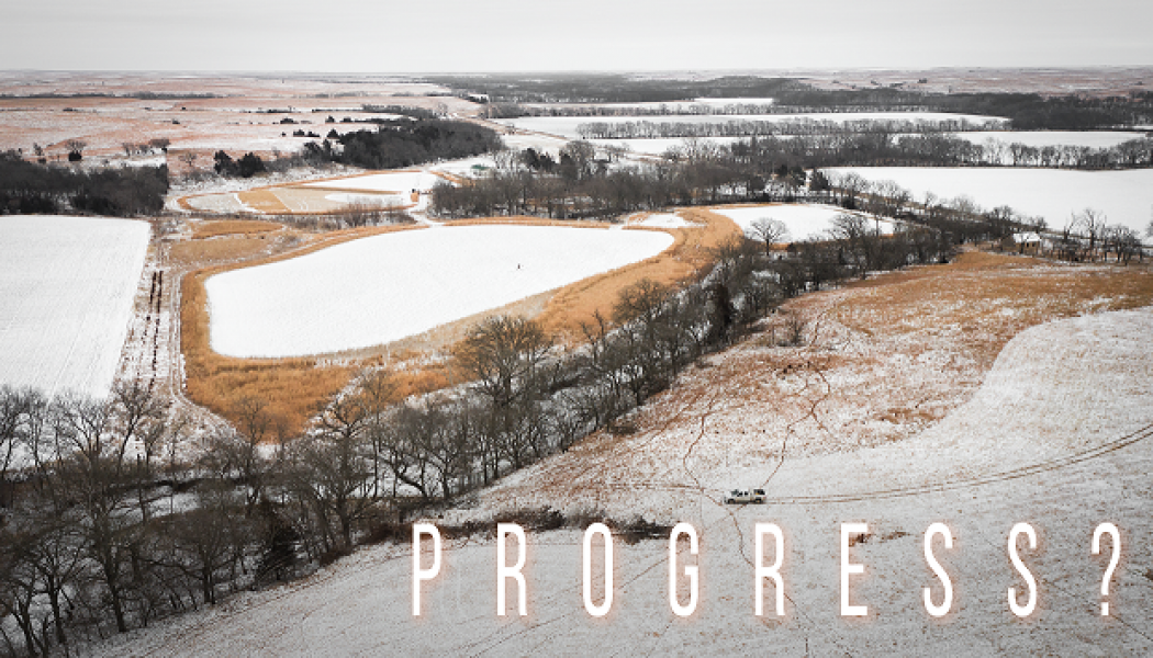"""Building Whitetails - Progress in """"The Runway?"""""""
