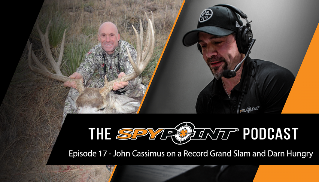 The SPYPOINT Podcast - Going for a Grand Slam Record with John Cassimus