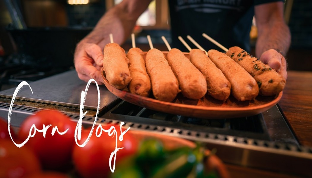 Quick and Easy Homemade Corn Dog Recipe | Darn Hungry