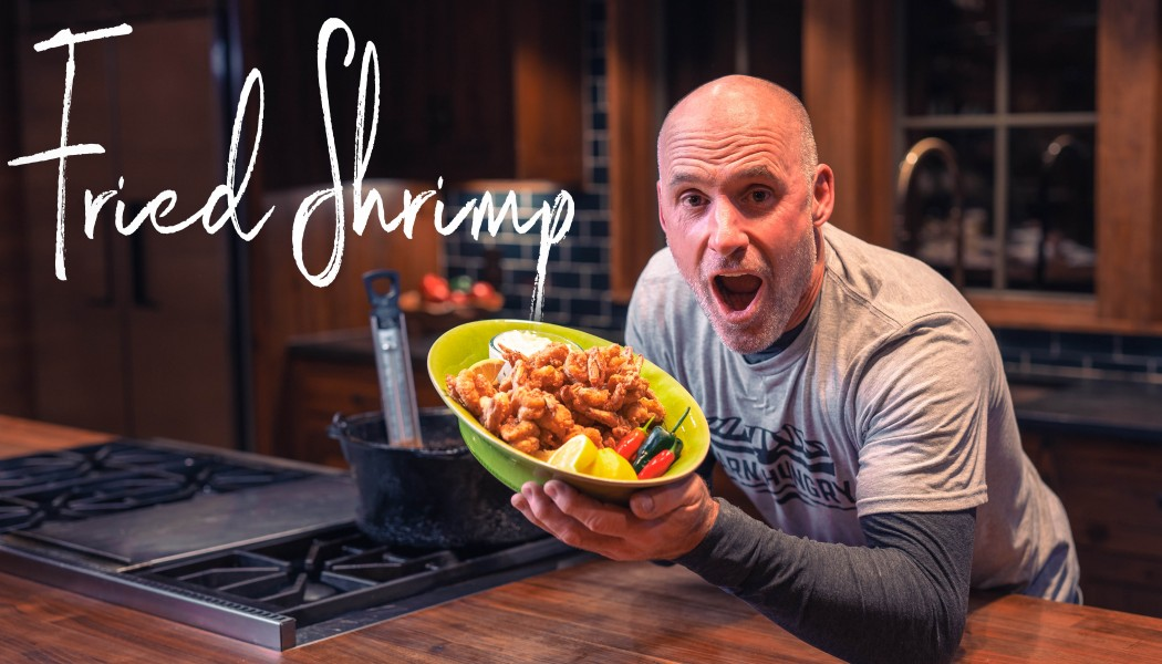 How to Make Fried Shrimp at Home | Darn Hungry