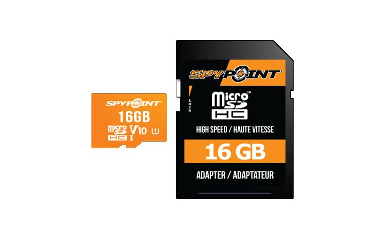 MicroSD 16 GB card