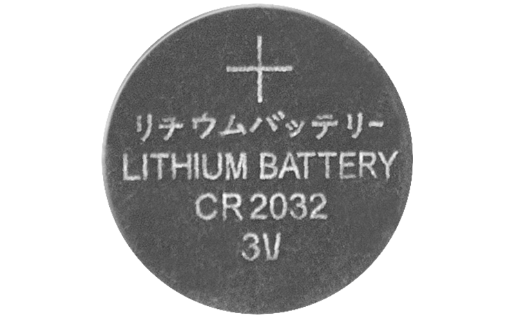 Batterie de temps CR-2032